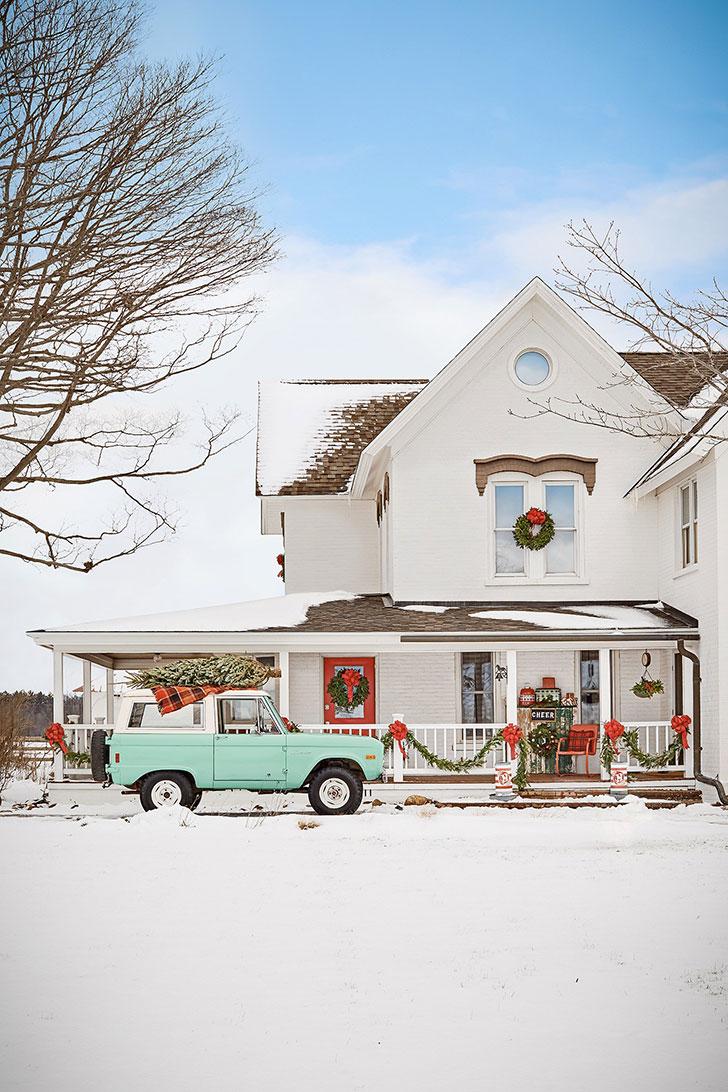 Кантри стиль и рождество — идеальное сочетание