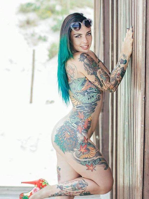 Та-Ту! Татуировки девушек на интимных местах.