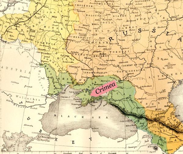 Крымская война в британской и французской сатирической прессе.