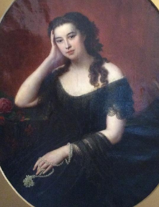 Варвара Римская-Корсакова. Неизвестный художник.