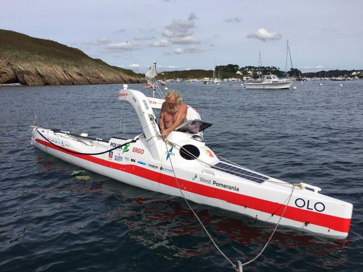 Суши весла: польский пенсионер пересек Атлантику набайдарке, проплыв более 100 дней