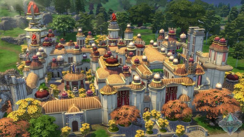 Пользователь воссоздал город из World of Warcraft в The Sims 4 the sims 4,world of warcraft,Игры