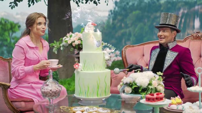 Кадр из музыкального клипа