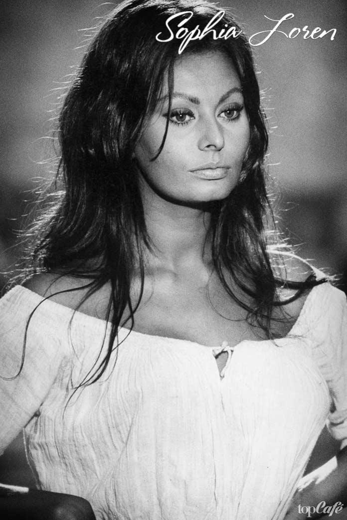 Красивые итальянские актрисы: Sophia Loren