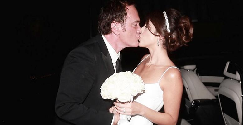 Квентин Тарантино впервые женился
