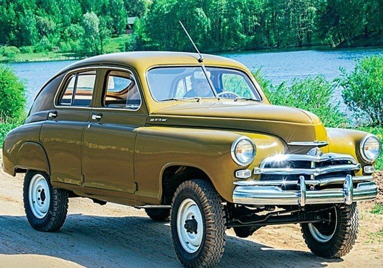 ГАЗ М72, первый кроссовер в мире? авто