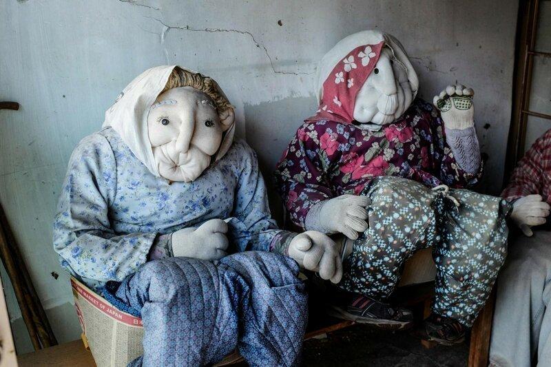 Дом кукол: в Японии создана деревня, призванная обратить внимание на сокращение населения