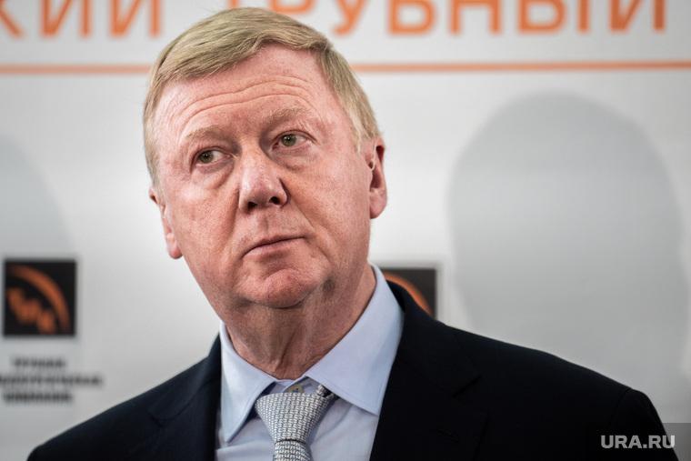 Чубайс предложил провести в России эксперимент с налогами
