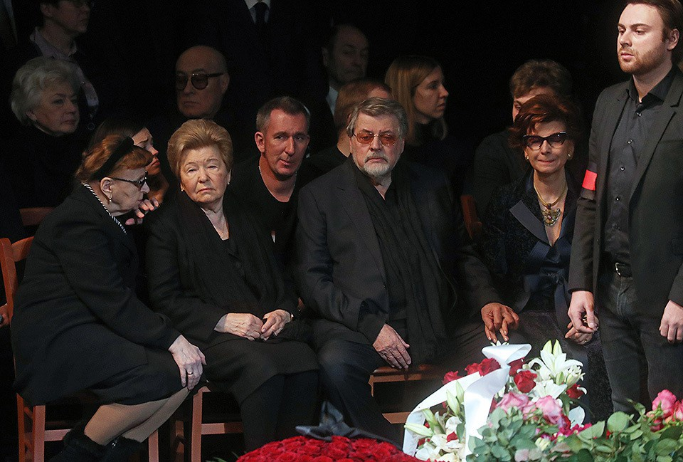 Михаила Державина похоронили…