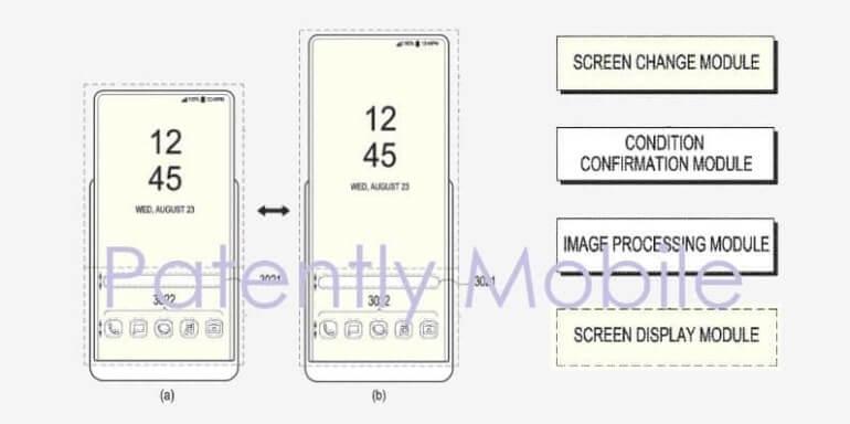 Samsung патентует смартфон с растягивающимся дисплеем samsung,технологии,экраны