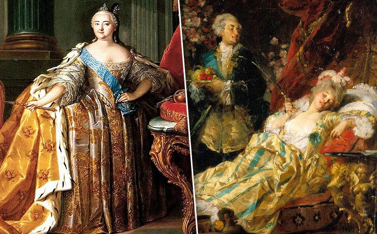 5 самых развратных женщин в истории