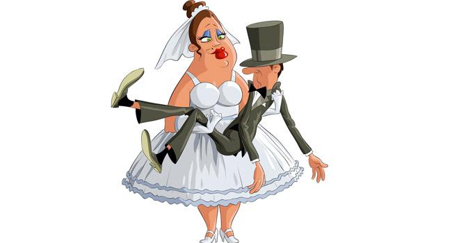 Невеста смешные рисунки