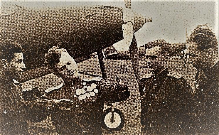 История самого эффективного лётчика Второй мировой войны