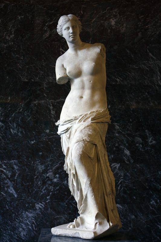 Что держала в руках Венера Милосская?