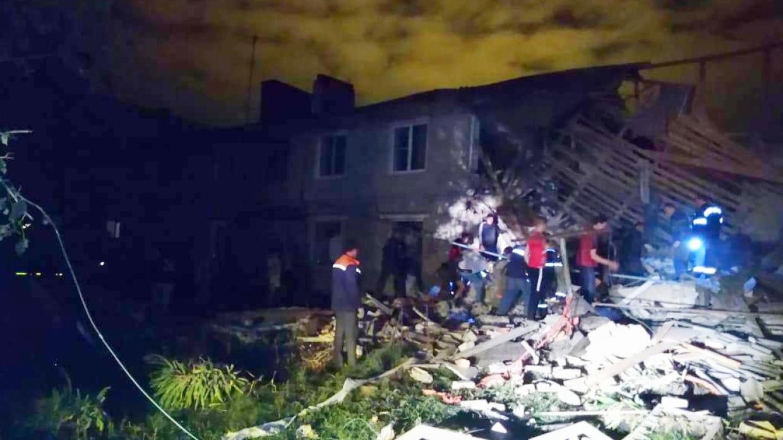 Жители соседнего дома помогали пострадавшим при взрыве газа в Ельце Происшествия