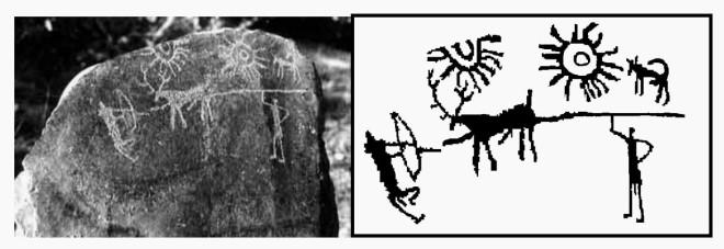 Древние индийские рисунки возрастом 5 000 лет оказались изображением взрыва сверхновой