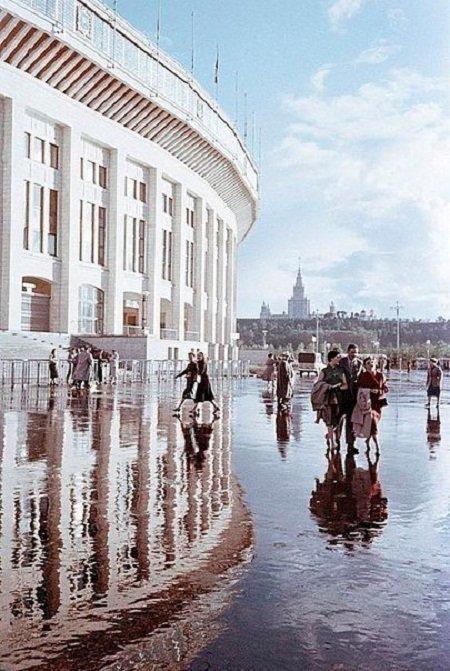Лужники, 1960-е СССР, детство, ностальгия, подборка