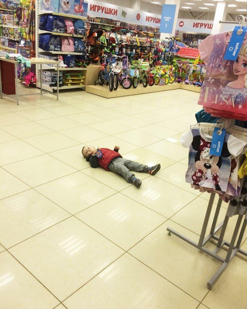 Устал? Отдохни! баловство, в магазине, дети, подборка, прикол, юмор