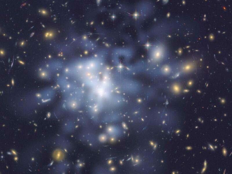 5. Тёмная материя не похожа на обычную материю и мы мало что о ней знаем в мире, интересно, наука, познавательно, феномен, фото