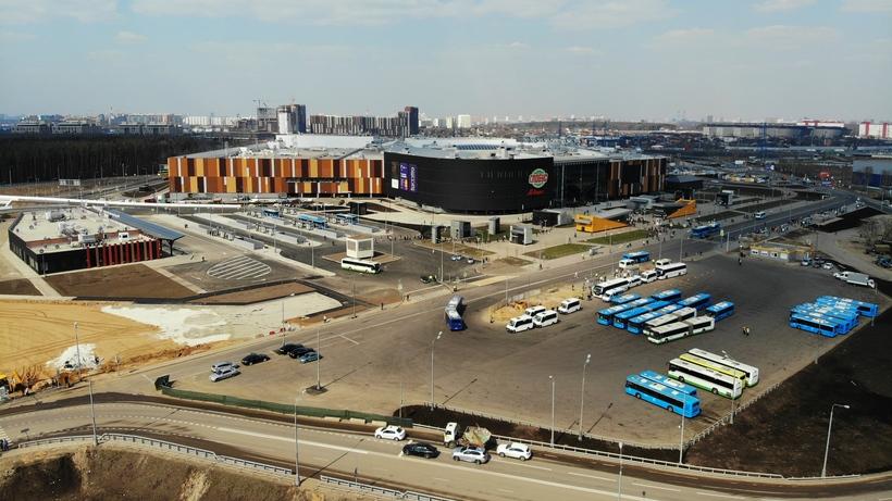 В новой Москве открыли ТПУ «Саларьево»