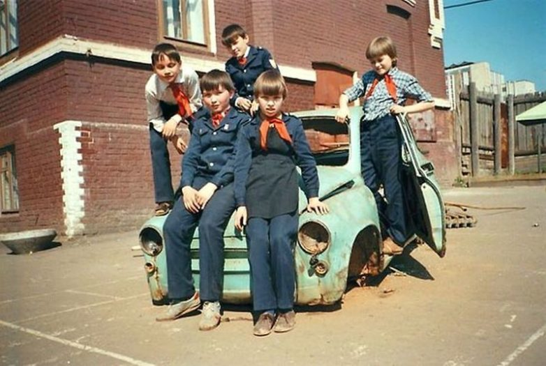 Беззаботное советское детство