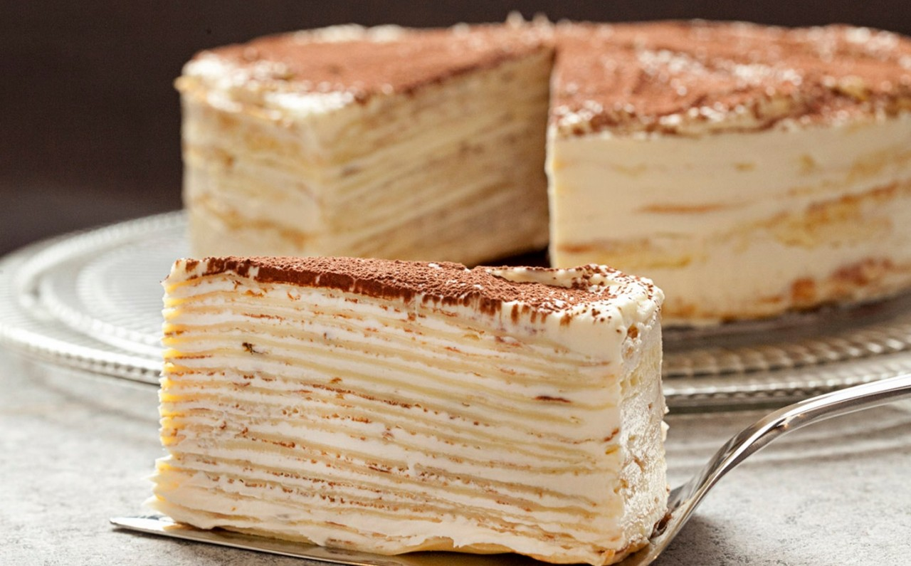 Блинный торт — 7 сладких рецептов