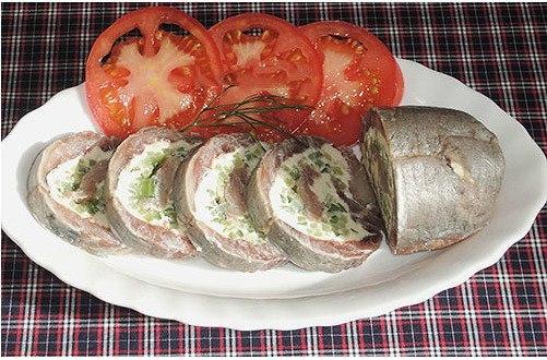 Вкусная и оригинальная закуска из сельди