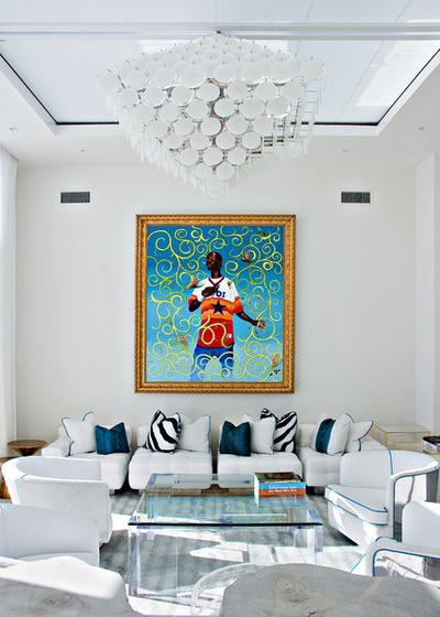 Морской Гостиная by Stephen Wang + Associates Architects