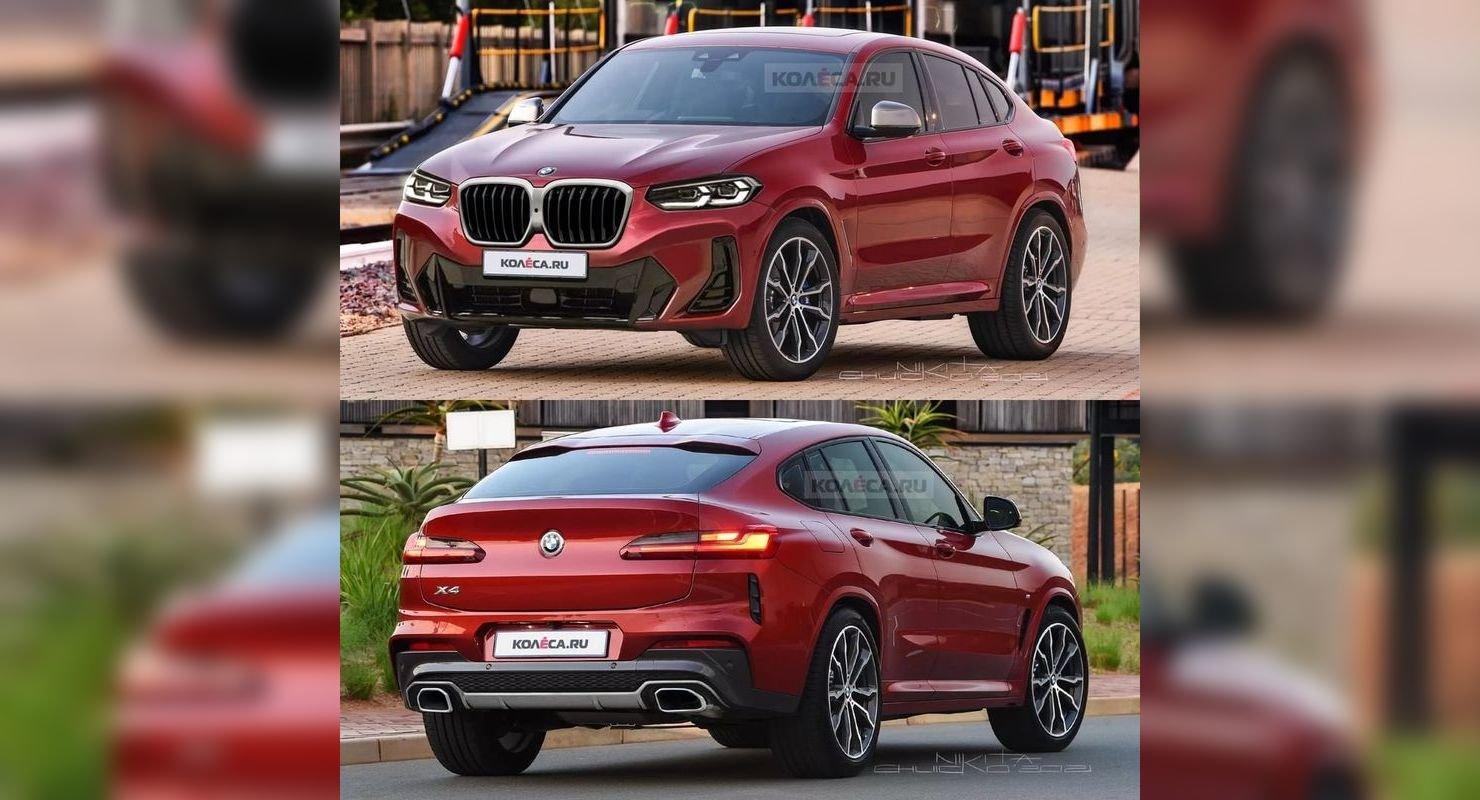 Рестайлинговый BMW X4 показали на новых снимках Автомобили