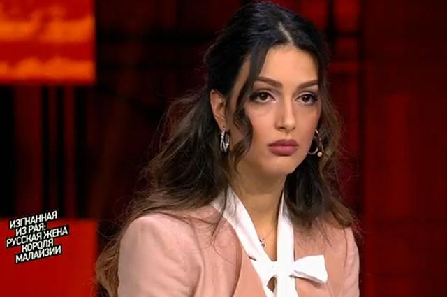 Экс-супруга бывшего короля Малайзии Оксана Воеводина рассказала о нем в программе Ксении Собчак на Первом канале Медиа