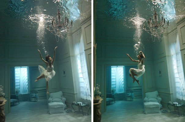 16. Подводная фотосессия за кадром, кадры, неожиданно, постановка, постановочные фото, секреты, фото, фотограф