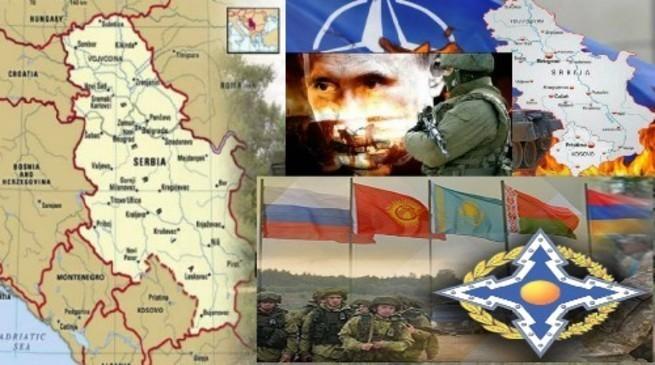 """На Балканах назревают крутые перемены: """"Сербия готовится войти в ОДБК, а у Москвы - новое оружие""""."""