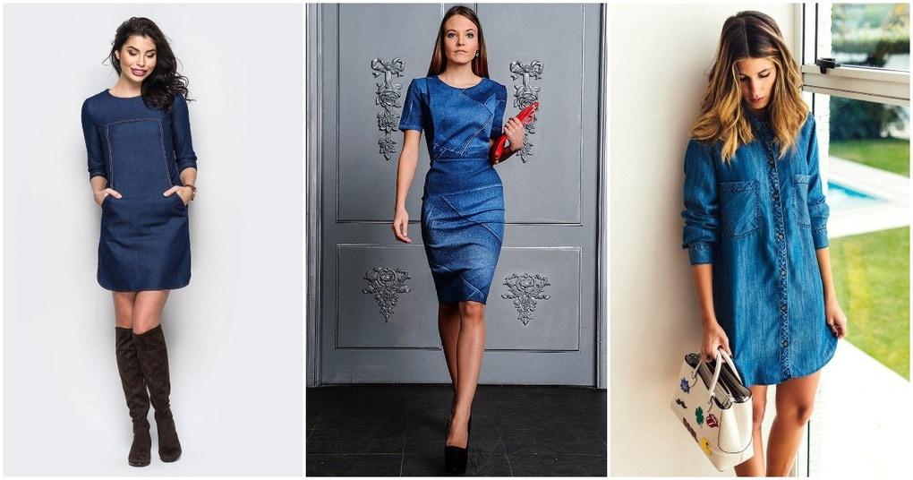 Джинсовое платье: лучшие фасоны сезона