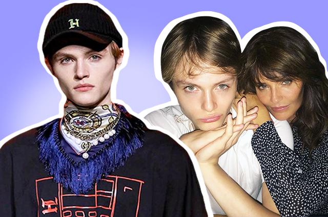 Сын Хелены Кристенсен впервые принял участие в Неделе моды в Лондоне: 5 фактов о Мингусе Ридусе