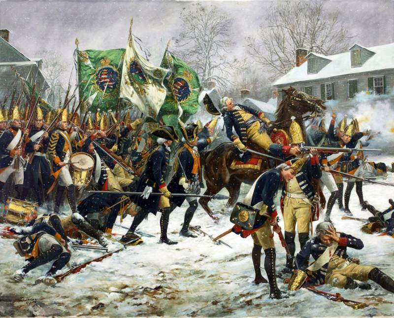Рождественский рейд Вашингтона: разгром гессенских наемников в Трентоне история