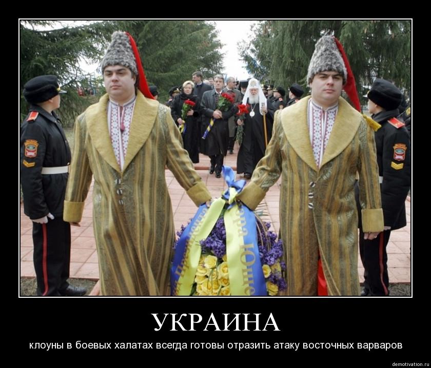 Донецк – желто-голубой цирк