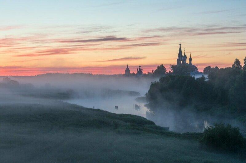 Простота и обаяние российских пейзажей город, природа, родина, россия, село, эстетика