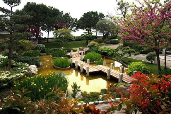 ландшафтный дизайн в китайском стиле, фото 29