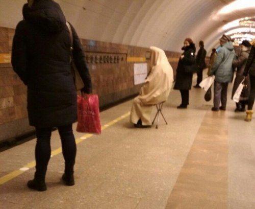 Чудные пассажиры из метро смешные картинки
