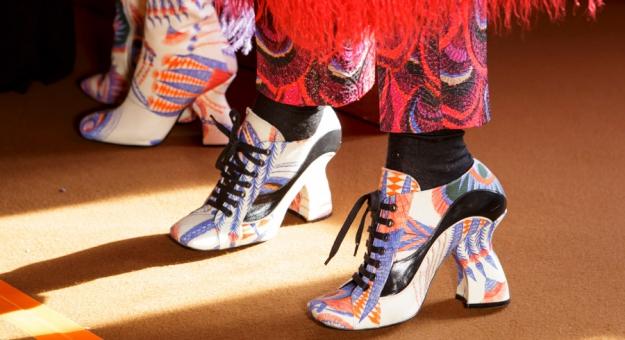 32 пары обуви на неделе моды в Париже