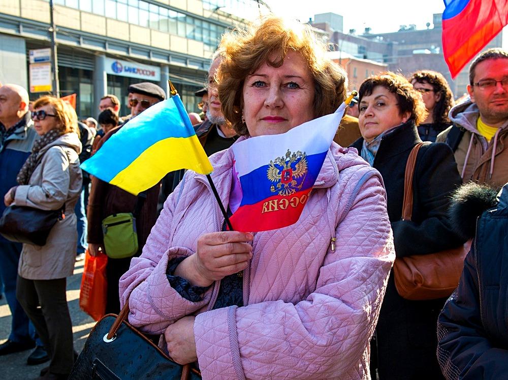 Российский триколор стал главной ошибкой Москвы во время украинского Майдана