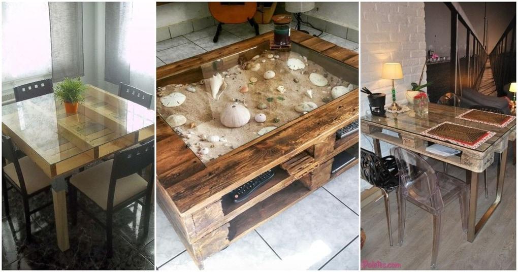 Столы из поддонов: интересные идеи для дома и офиса