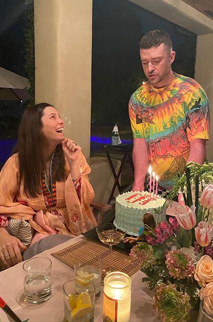 Джессика Бил и Джастин Тимберлейк отпраздновали день рождения сына Звездные дети