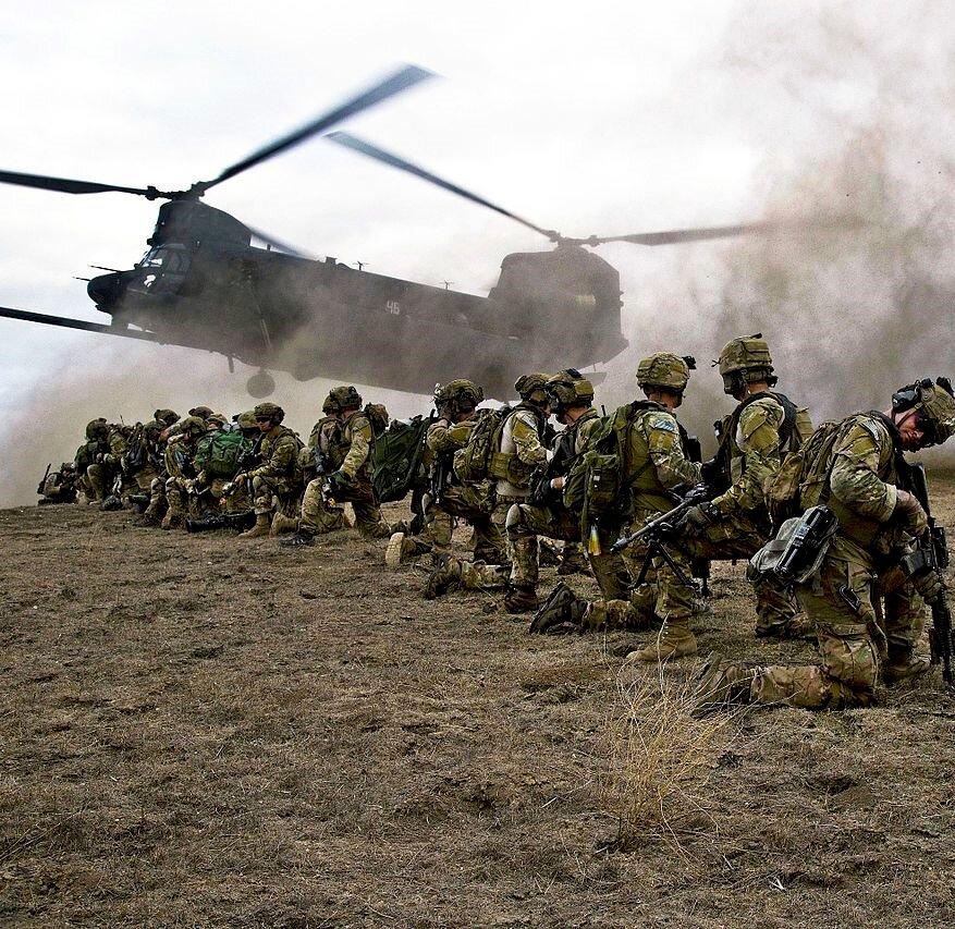 Военным США действительно приходится самоустраниться из некоторых регионов. Изображение взято из открытых источников - https://yandex.ru/images/