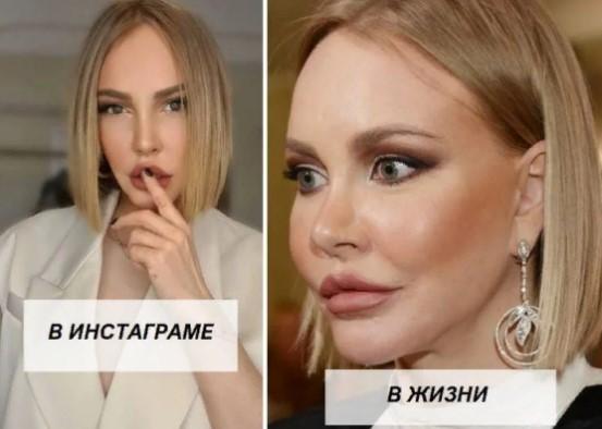Как выглядят знаменитые женщины за сорок в соцсетях и в действительности актриса,звезда,наши звезды,певица,фото,шоубиz,шоубиз