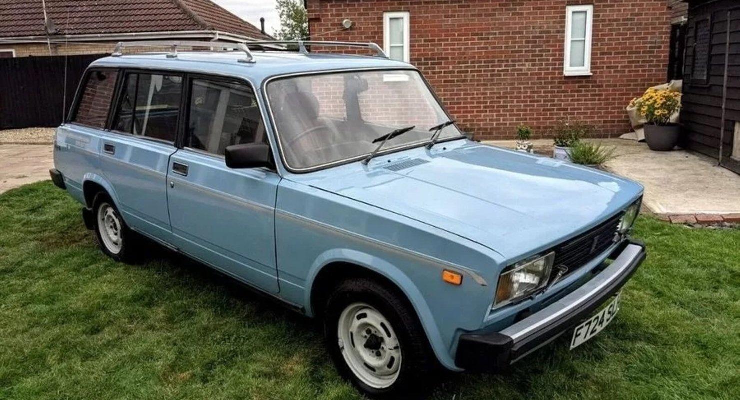 Праворульный ВАЗ-2104 продаётся в Великобритании Автомобили