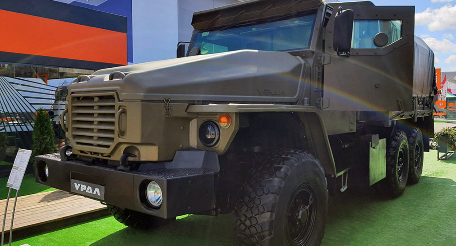 Грузовик с секретом: «Витязь-2» защитит от пуль и мин Автомобили