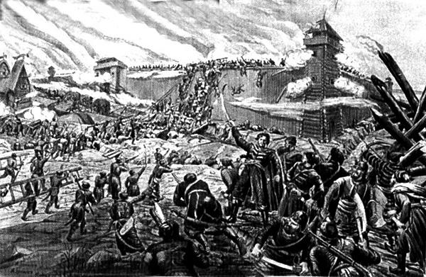24 апреля 1671 г. Степан Разин в результате предательства захвачен казачьими старшинами и выдан властям