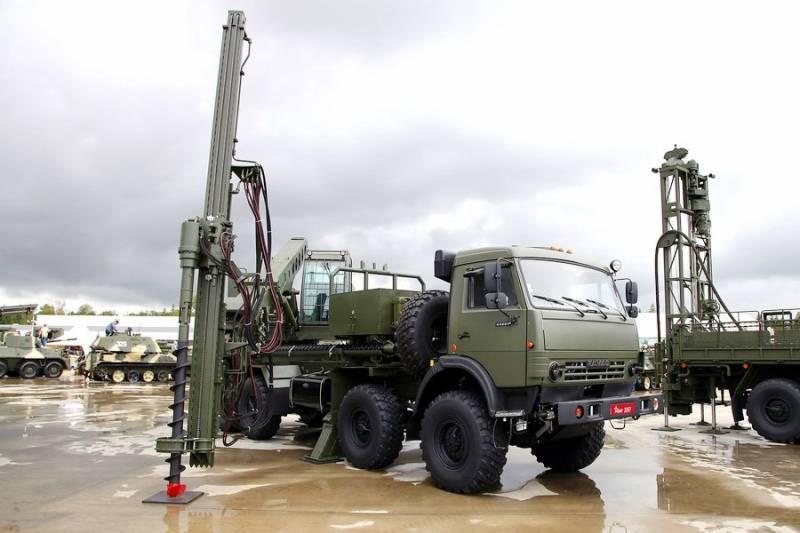 Военные инженеры в 2018 году получат новую машину БУМ-2