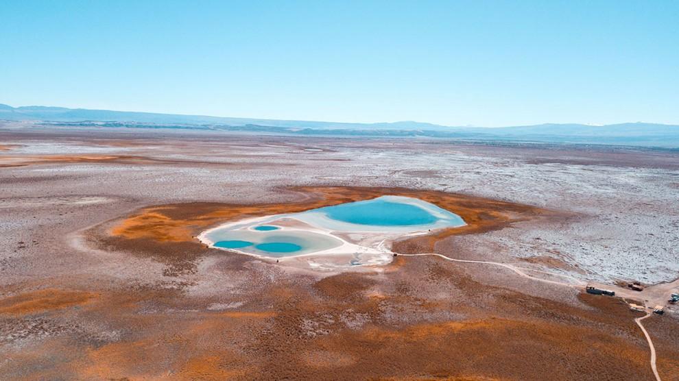 Инопланетные пейзажи пустыни Атакама